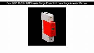 Buy Spd 10 1p House Surge Protector Low