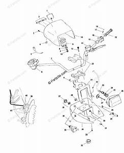 Polaris Atv 2000 Oem Parts Diagram For Handlebar