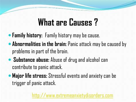 learn  panic attack