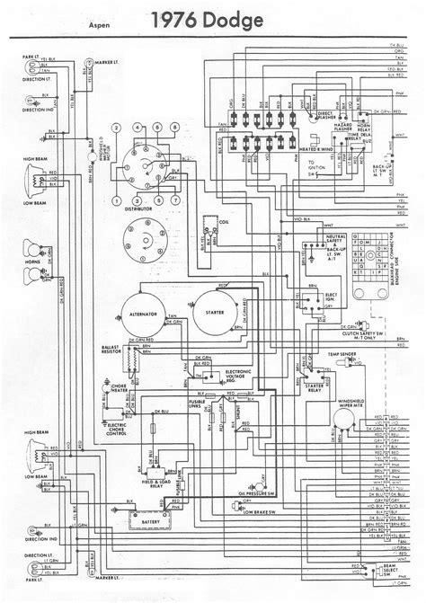 Dodge Aspen Wiring Diagram Under Repository Circuits