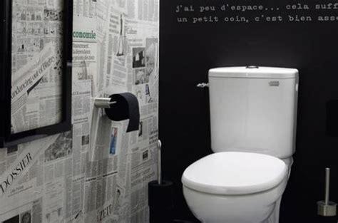chambre des metiers personnaliser ses wc décorer une pièce avec du papier journal