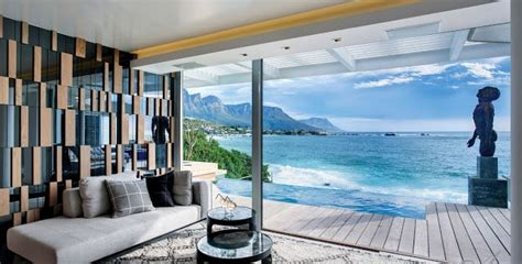 clifton view mansion  antoni associates overlooking cape