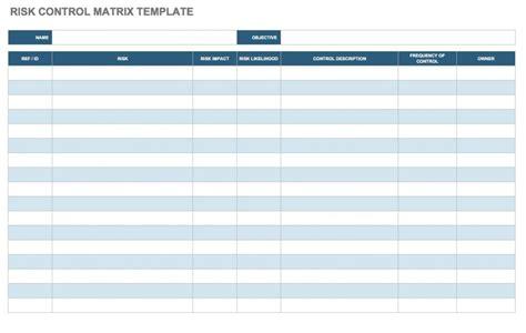 risk assessment matrix templates smartsheet