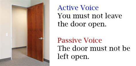 To understand the passive voice better, try to observe following sentences carefully. How to Use Passive and Active Voice in Business Writing ...