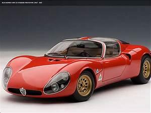 Alpha Romeo 33 : diecast autoart alfa romeo 33 stradale prototype 1 18 ~ Maxctalentgroup.com Avis de Voitures