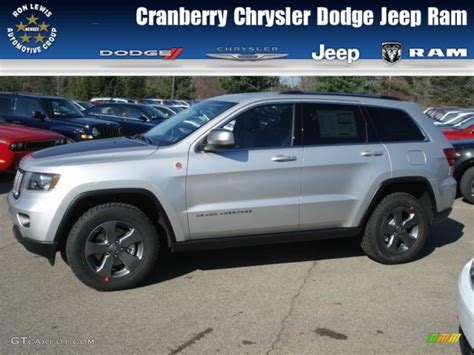 jeep grand cherokee trailhawk silver 2013 bright silver metallic jeep grand cherokee trailhawk