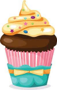 cake stand cupcakes with sprinkles clipart 43