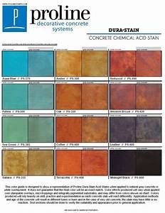 concrete stain color chart behr dura stain acid stain color chart offered by proline