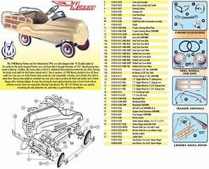 Pedal Car Parts  Murray U00ae Two