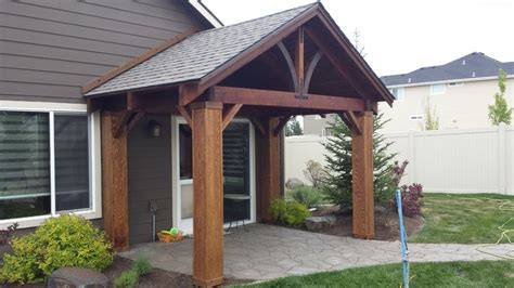 Patio Kits by Crafted Cedar Craftsman Patio Cover Kit By Bird Boyz