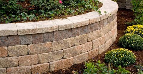 unilock retaining wall installation what goes into the construction of retaining walls in