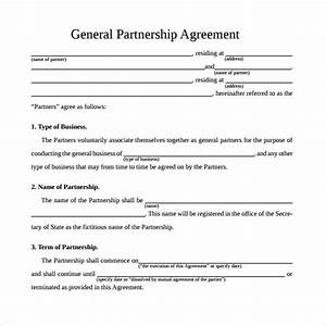 sample general partnership agreement 11 documents in With startup partnership agreement template