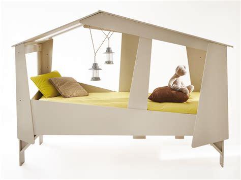 meuble cuisine beige lit cabane 90x200cm beige sommier inclus
