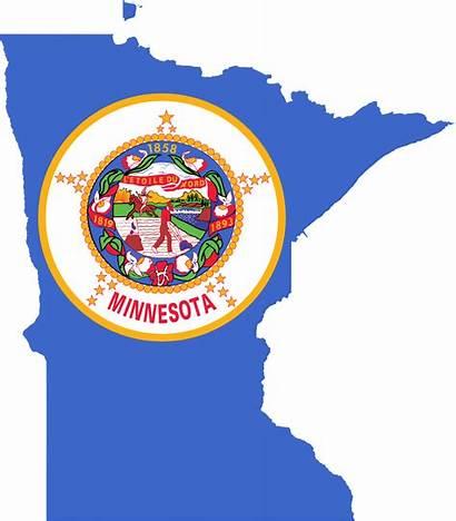 Minnesota Flag Map Svg Bandiera Wikimedia Commons