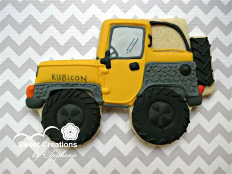 Custom Jeep Cookie Sweets By Sweet Creations By