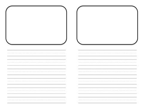 mini book template cover kindergarten  st