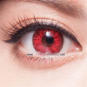 Super Bright Red - Circle Lenses & Colored Contacts ...