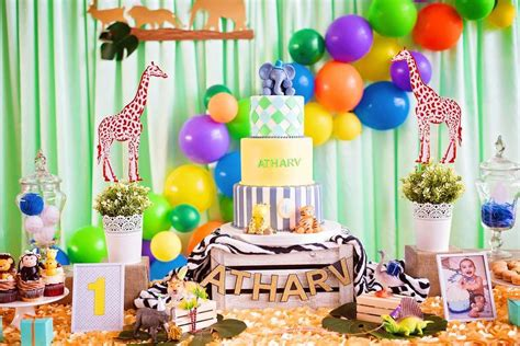 Party Animals Theme Birthday Party Ideas In 2019