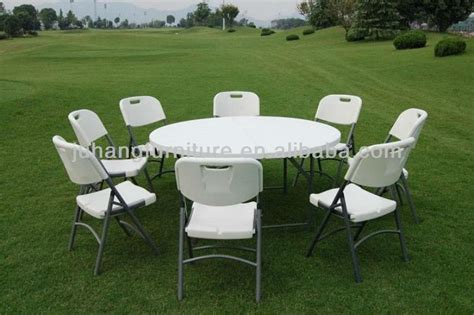plastic tables for sale outdoor picnic banquet 6ft 8ft round plastic tables for