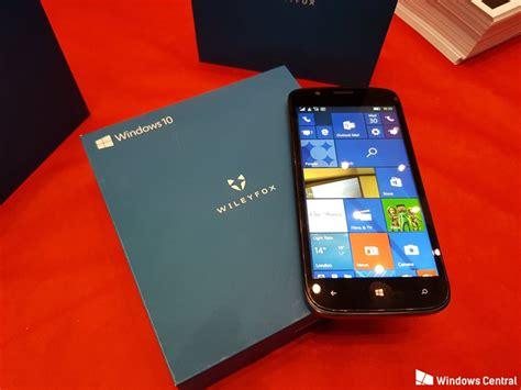 brytyjski wileyfox prezentuje nowy smartfon z windowsem 10