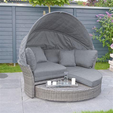 bauhaus gartenmöbel rattan sunfun lounge insel paula 193 x 175 x 166 cm polyrattan