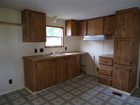 Mobile Home Kitchen Cabinets  Bestofhousenet  #47906