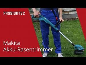 Makita Rasentrimmer Akku 18v Test : makita akku rasentrimmer dur181z youtube ~ Watch28wear.com Haus und Dekorationen