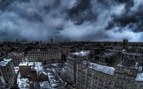 grey city widescreen wallpaper wide wallpapersnet