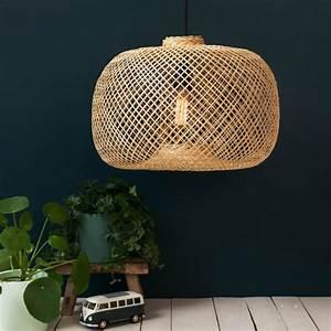 Abat Jour Bambou : suspension tress e en bambou le petit floril ge luminaires ~ Teatrodelosmanantiales.com Idées de Décoration