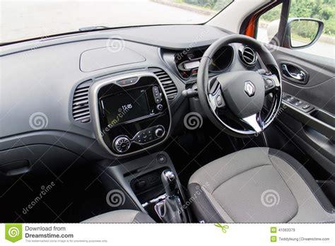 renault captur interior at night renault captur test drive on may 21 2014 in hong kong