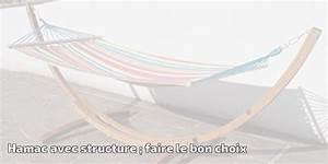 Structure Pour Hamac : hamac avec structure faire le bon choix pour 2019 meilleur jardin ~ Teatrodelosmanantiales.com Idées de Décoration