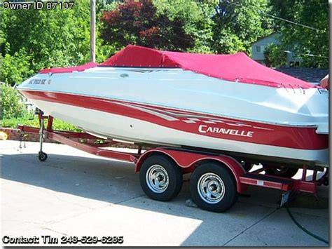 Caravelle Boats For Sale By Owner by 2006 Caravelle 218 Deckboat Used Boats For Sale By Owners