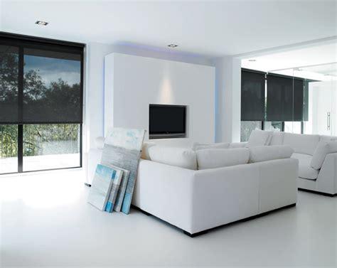 sleek window treatments  modern style