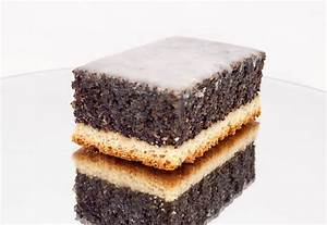 Mohnkuchen mit Decke Bäckerei Krause