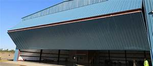 hanger doors well bilt industries custom bi fold hangar With bifold hangar doors