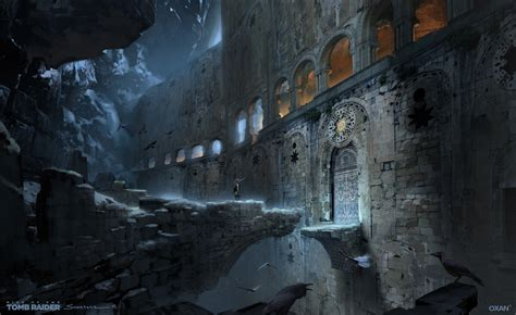 Rise Of The Tomb Raider Art By Oxan Studio 23 Escape