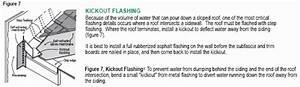 Dormer  Bay And Chimney Sidewall Kickout Flashings Faq