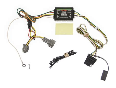 2002 Nissan Frontier Trailer Wiring by Custom Fit Vehicle Wiring For 2002 Nissan Frontier Curt