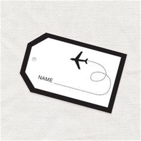 Travel Escort Tag Template by Card Templates Escort Cards And Advice Cards On Pinterest