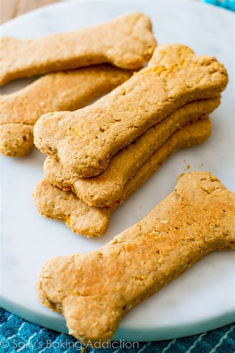 Soft Peanut Butter Carrot Dog Treats  Sallys Baking Addiction