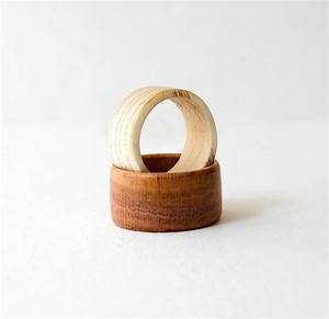 wood ring wooden rings set wedding bands wedding ring pair With wooden wedding ring sets
