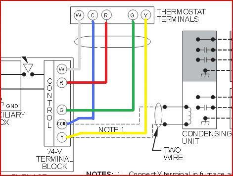 Replacing Carrier Thermostat With Honeywell