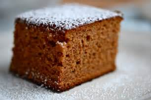 gluten free gingerbread cake with cinnamon and molasses