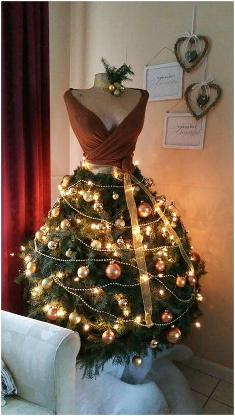 diy mannequin christmas tree tutorial ideas video