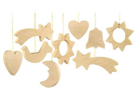Christbaumschmuck Aus Holz Selber Machen by Nemmer Christbaumschmuck Aus Holz Flachmodelle 24 Teile