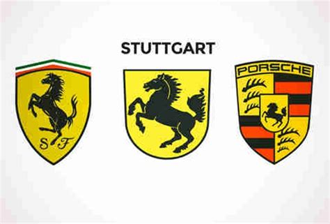 ferrari porsche logo celebrating 70 years of porsche with 7 unlikely facts why