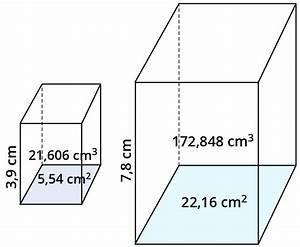 Volumen Von Körpern Berechnen : bei hnlichen figuren k rpern fl chen und volumina ~ Themetempest.com Abrechnung