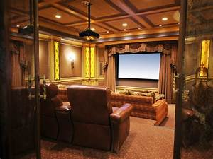 Family Friendly Home Theaters From Diynetwork Com
