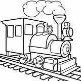 Coloring Pages Train Toy Trains Lbb Clipart Clip sketch template
