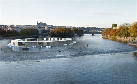 New York To Southton By Boat by Floating Pool Could Clean The Water In Prague S Vltava